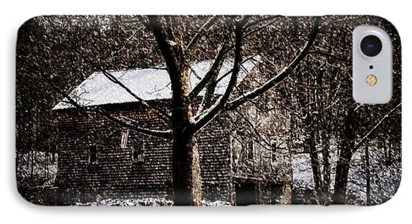 Winters At The Farm IPhone Case by Tricia Marchlik