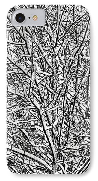 Winters Branches IPhone Case