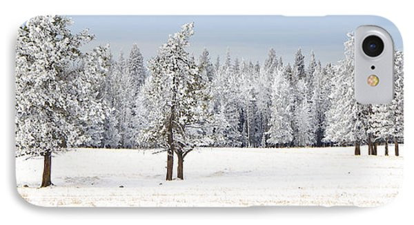 Winter's Coat IPhone Case by Dee Cresswell