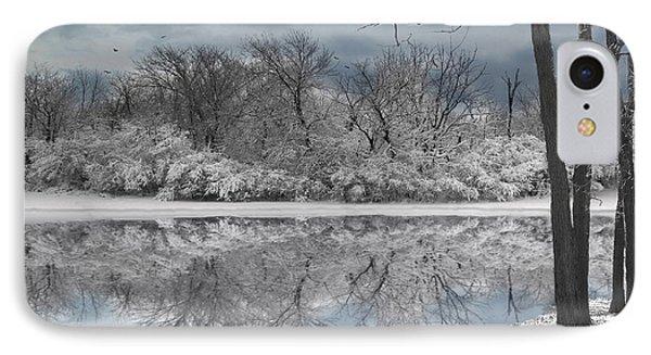 Winters Delight 6 IPhone Case by Cedric Hampton