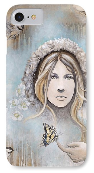 Winter's Dream IPhone Case by Sheri Howe