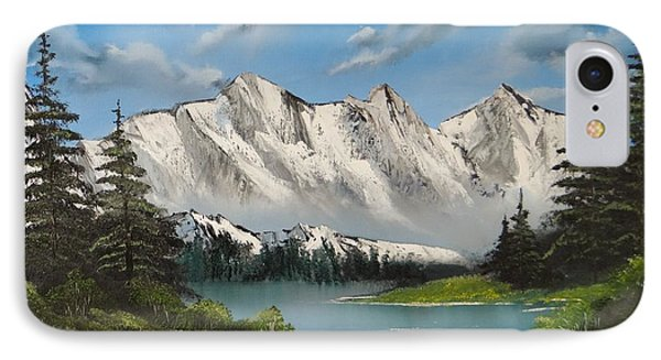 Winter's End Phone Case by Kevin  Brown