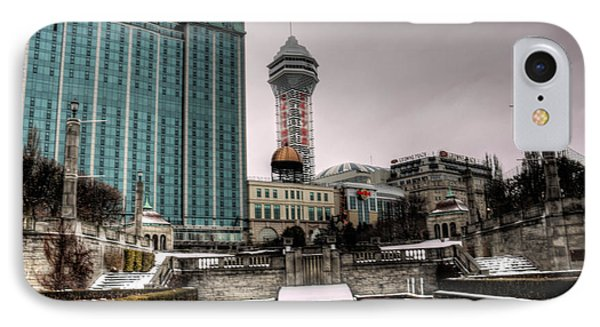 Winters Garden IPhone Case by Jim Lepard