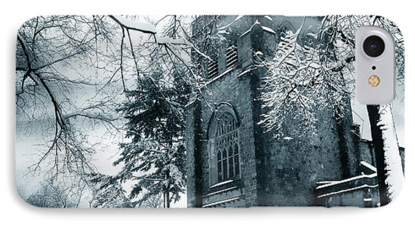 Winter's Gothic IPhone Case by Jessica Jenney