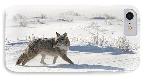 Winter's Hunt IPhone Case