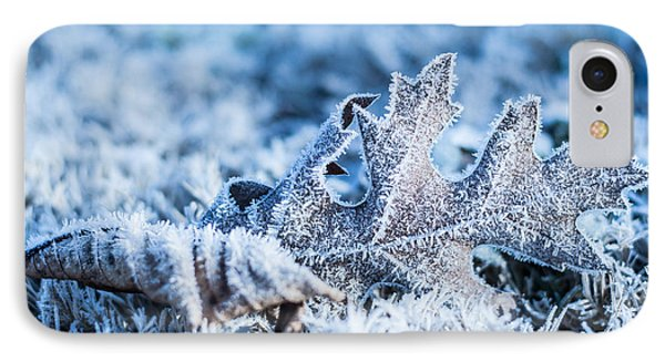 Winter's Icy Grip IPhone Case by Parker Cunningham