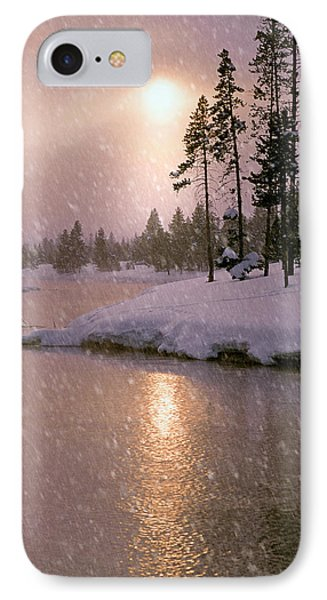 Winters Light IPhone Case