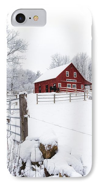 Winter's Morning IPhone Case by Robert Clifford