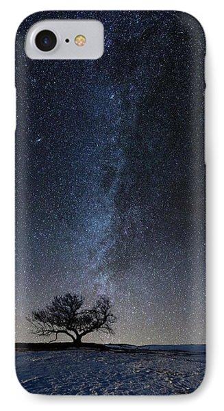 Winter's Night IPhone Case by Aaron J Groen