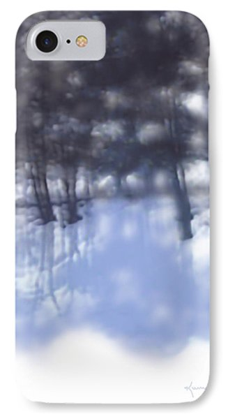 Winters' Shadow IPhone Case