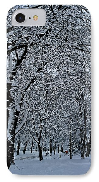 Winter's Work Phone Case by Joseph Yarbrough