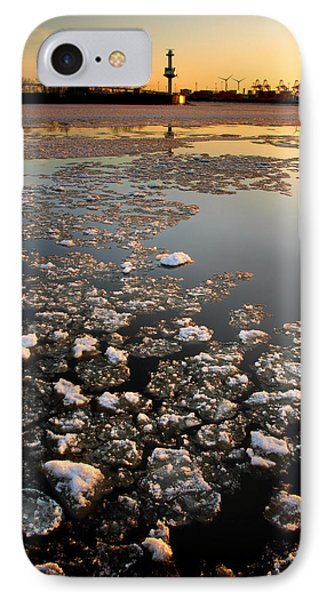Wintersunset IPhone Case by Marc Huebner