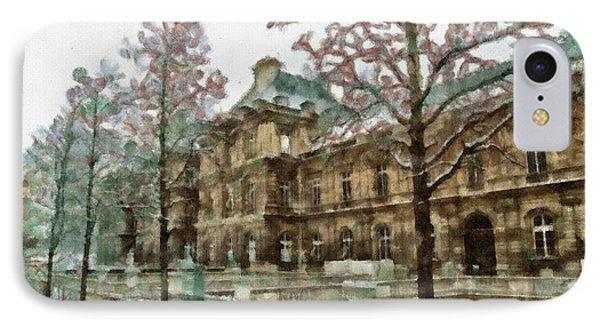 Wintertime Sadness Phone Case by Ayse and Deniz