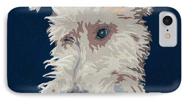 Wire Fox Terrier IPhone Case by Slade Roberts