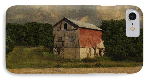 Wisconsin Barn Phone Case by Jack Zulli
