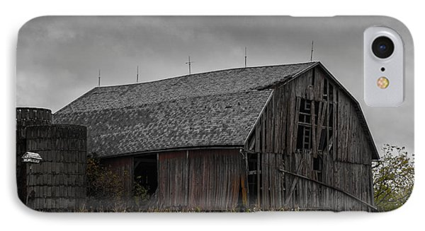 Wisconsin Barn IPhone Case by Joseph Smith