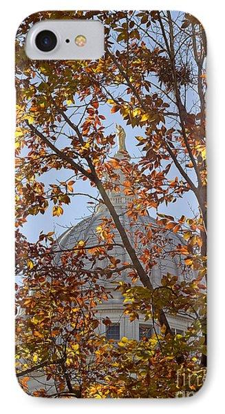 Wisconsin Capitol IPhone Case by Steven Ralser