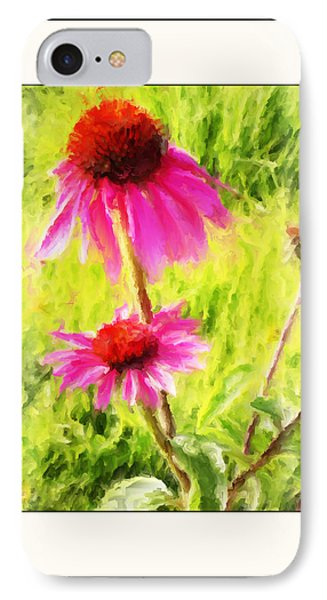 Wisconsin Cone Flowers IPhone Case by Kelly Gibson