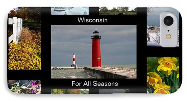 IPhone Case featuring the photograph Wisconsin For All Seasons by Kay Novy