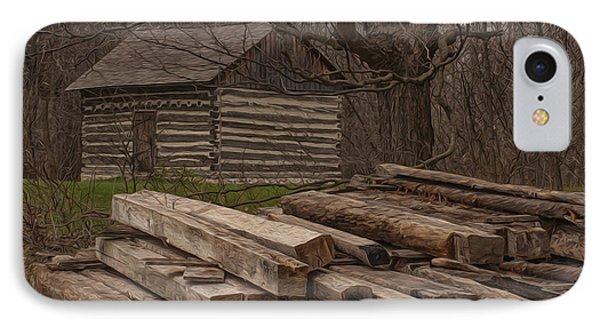 Wisconsin Rustic IPhone Case by Jack Zulli
