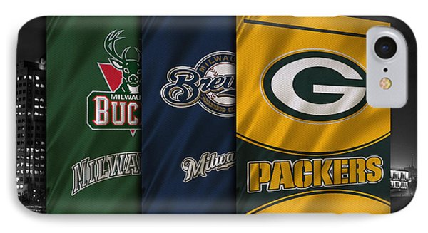 Wisconsin Sports Teams IPhone Case