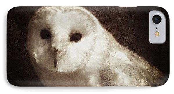 Wisdom Of An Owl IPhone Case by Georgiana Romanovna
