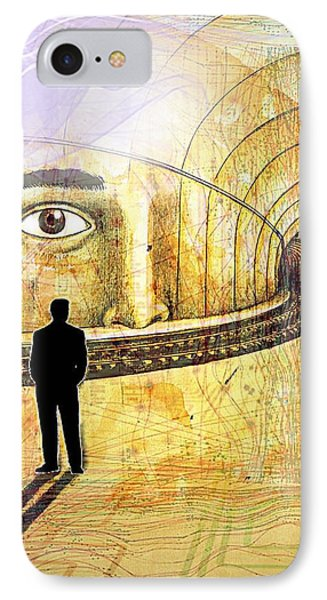 Wisdom Underground - Healing Through Understanding II IPhone Case