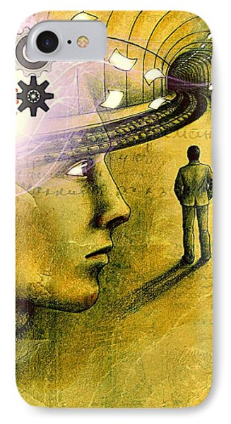 Wisdom Underground - Healing Through Understanding IPhone Case