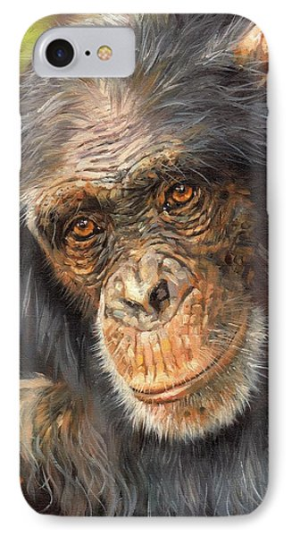 Wise Eyes IPhone Case by David Stribbling