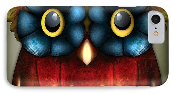 Wise Pumpkin Owl IPhone Case