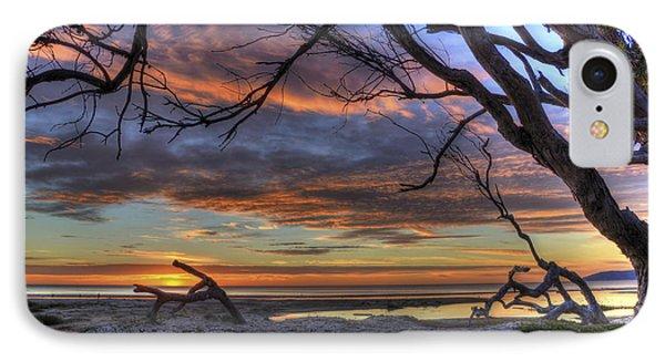Wishing Branch Sunset IPhone Case