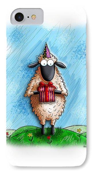Wishing Ewe  IPhone Case by Gary Bodnar