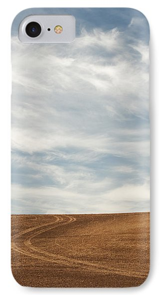 Wispy Clouds IPhone Case by Latah Trail Foundation