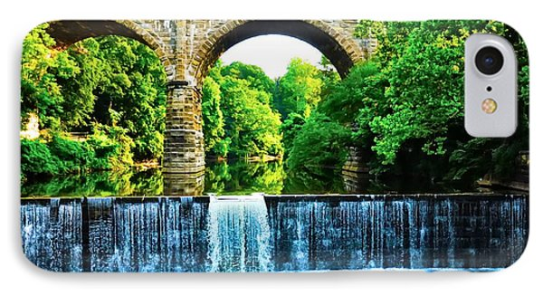 Wissahickon Falls Phone Case by Bill Cannon