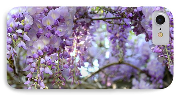 Wisteria Dream IPhone Case by Cathy Dee Janes