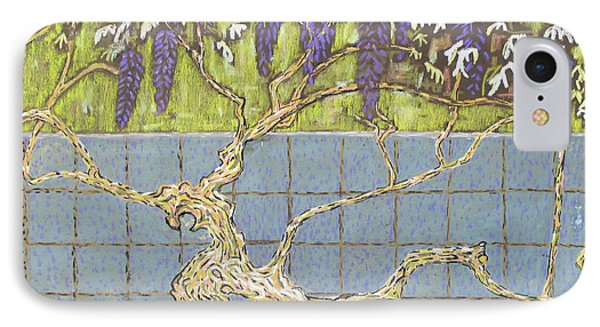Wisteria Phone Case by Don Perino