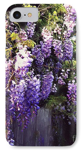 Wisteria Dreaming IPhone Case by Leanne Seymour