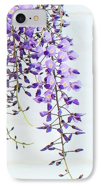 Wisteria  IPhone Case by Katy Mei