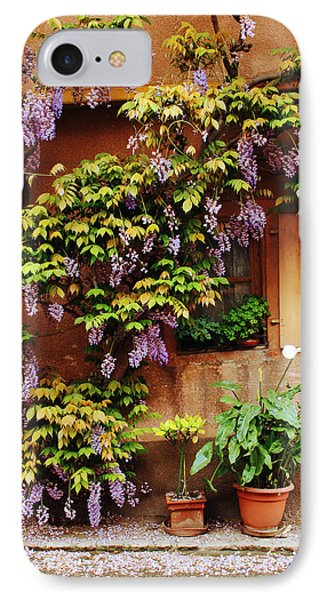 Wisteria On Home In Zellenberg 4 Phone Case by Greg Matchick