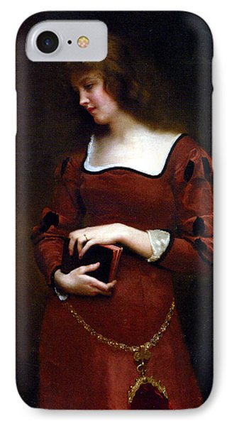 Wistful Thoughts Phone Case by Gustave Jean Jacquet