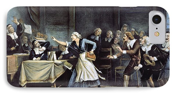 Witch Trial IPhone Case by Granger