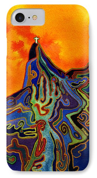 IPhone Case featuring the painting Witchcraft In Brazil by David Klaboe