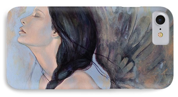 With Ancient Love IPhone Case by Dorina  Costras