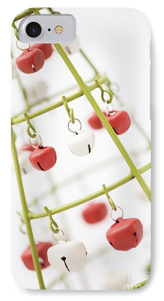 With Bells On IPhone Case by Anne Gilbert