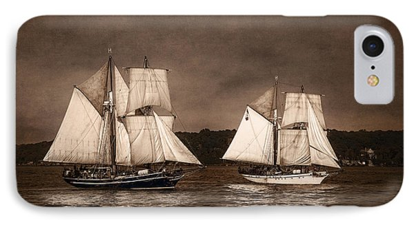 With Full Sails Phone Case by Dale Kincaid