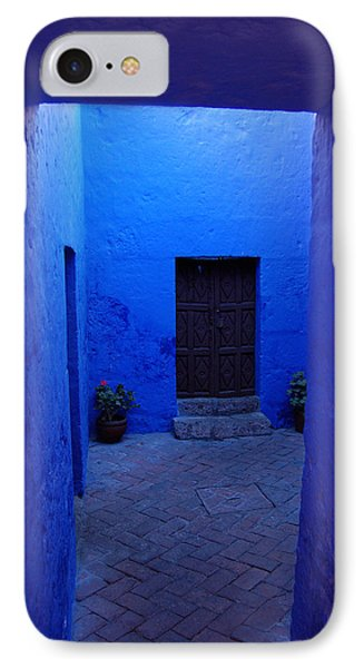 Within Bue Walls IPhone Case by RicardMN Photography