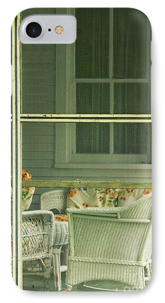 Within The Screened Porch IPhone Case