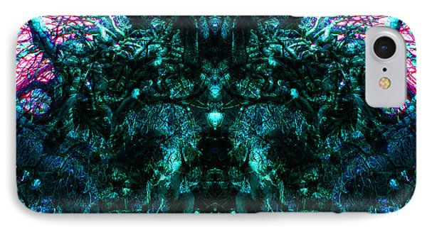 IPhone Case featuring the digital art Within Transcendence by Christophe Ennis