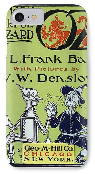 Wizard Of Oz Book Cover  1900 Phone Case by Daniel Hagerman