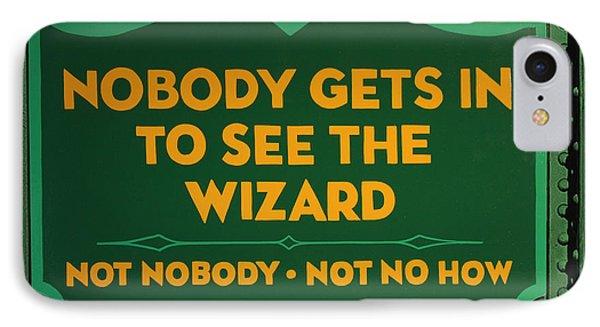 Wizard Sign Phone Case by Bill Jonas